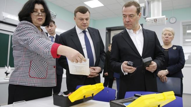 """Посещение образовательного комплекса «Школа """"Сколково-Тамбов""""»"""