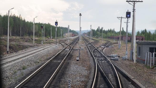 Перегон Кутыкан – Кувыкта Байкало-Амурской магистрали