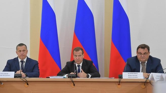 Вступительное слово Дмитрия Медведева на совещании об основных мерах по социально-экономическому развитию Забайкальского края