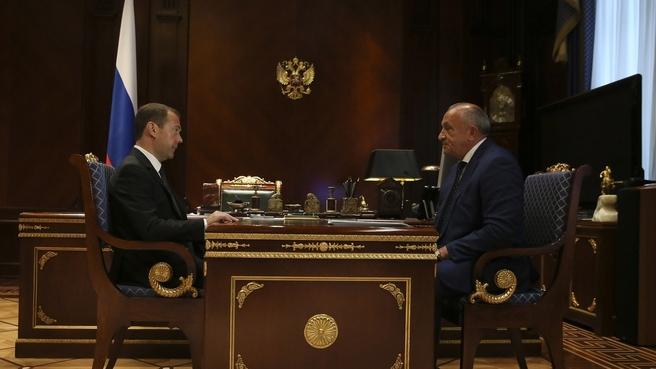 Встреча с главой Удмуртской Республики Александром Соловьёвым