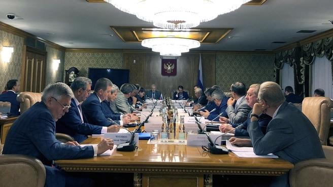 Заседание Совета по реализации Федеральной научно-технической программы развития сельского хозяйства на 2017–2025 годы
