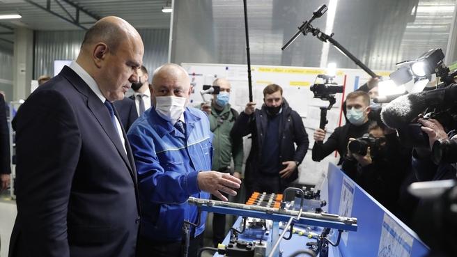 Посещение Алтайского завода прецизионных изделий