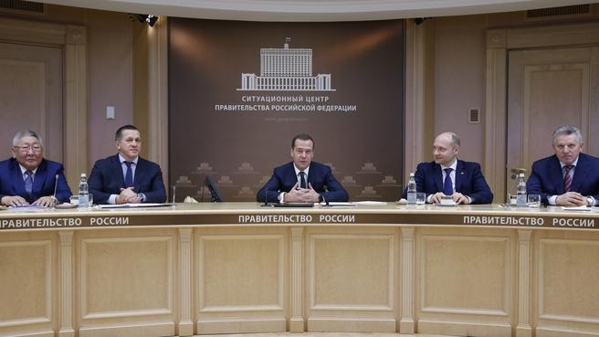 Встреча Дмитрия Медведева с участниками программы «Дальневосточный гектар»