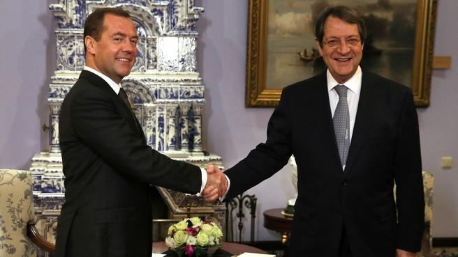 Беседа с Президентом Кипра Никосом Анастасиадисом