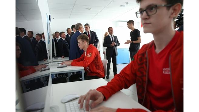 Посещение Межрегионального центра компетенций – Казанского техникума информационных технологий и связи