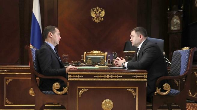 Встреча с председателем ПАО «Промсвязьбанк» Петром Фрадковым