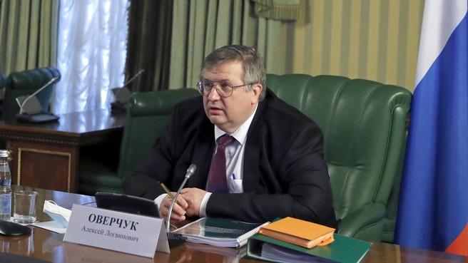 Алексей Оверчук на заседании Совета Евразийского экономической комиссии