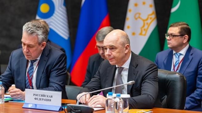 Антон Силуанов на Международном экономическом форуме «СНГ: Цифровая экономика – платформа интеграции»