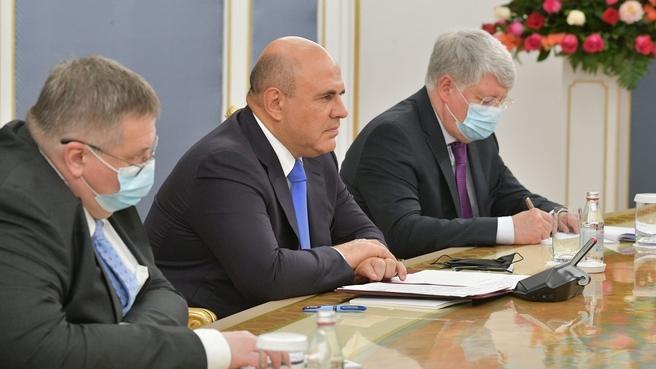 Встреча Михаила Мишустина с первым Президентом Республики Казахстан – Лидером нации Нурсултаном Назарбаевым
