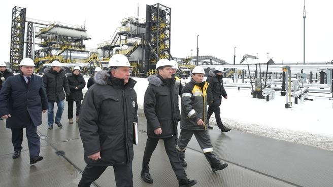Посещение Кондинского нефтяного месторождения