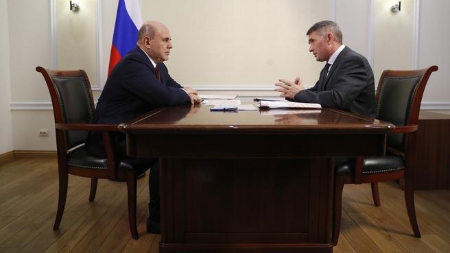 Беседа с Главой Чувашской Республики Олегом Николаевым