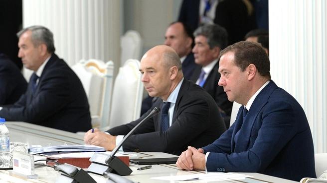 Заседание Совета глав правительств государств – участников СНГ в широком составе