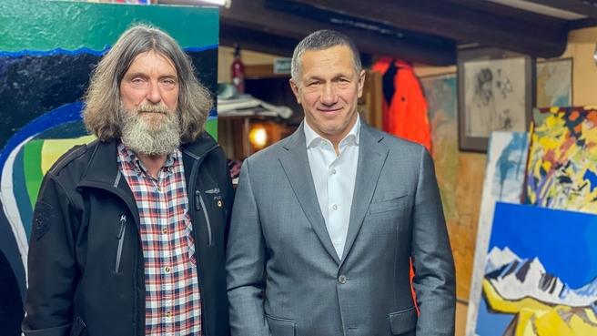 Встреча Юрия Трутнева с Фёдором Конюховым