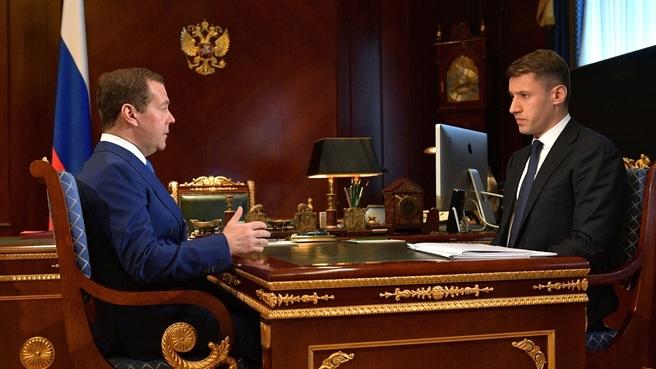 Встреча с генеральным директором АО «ДОМ.РФ» Александром Плутником