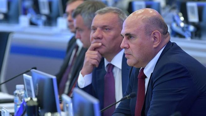 Михаил Мишустин на совещании по формированию спроса на российскую радиоэлектронную продукцию