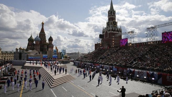 Торжественный концерт по случаю празднования 870-летия Москвы