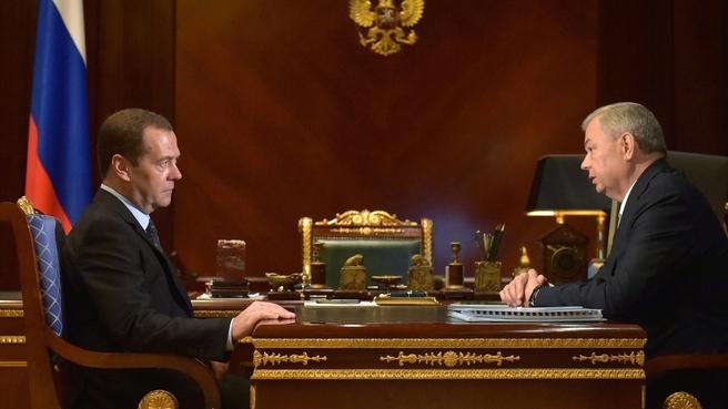 Встреча с губернатором Калужской области Анатолием Артамоновым