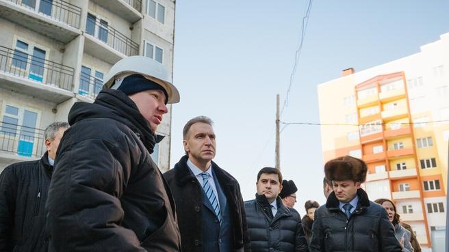 Рабочая поездка Игоря Шувалова в Кемеровскую область