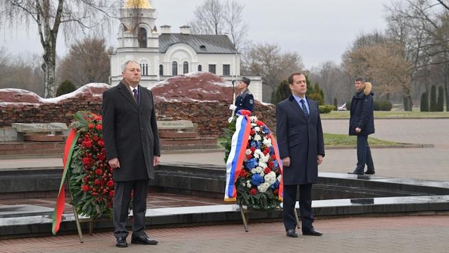 Посещение мемориального комплекса «Брестская крепость-герой». Возложение венков к Вечному огню