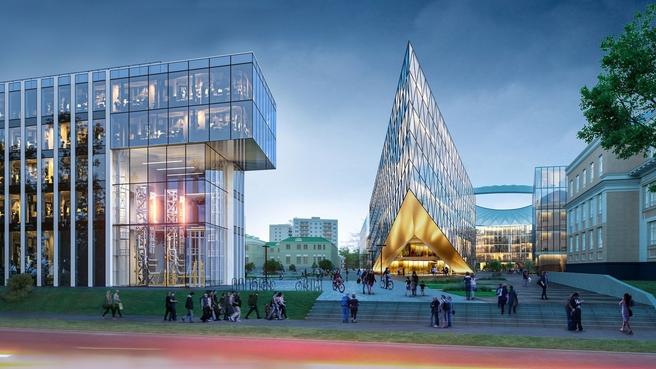 Проект университетского кампуса