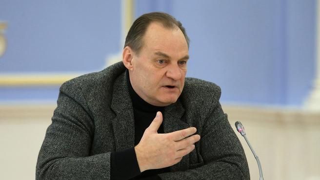 Председатель Всероссийского общества инвалидов, депутат Государственной Думы Федерального Собрания Александр Ломакин-Румянцев
