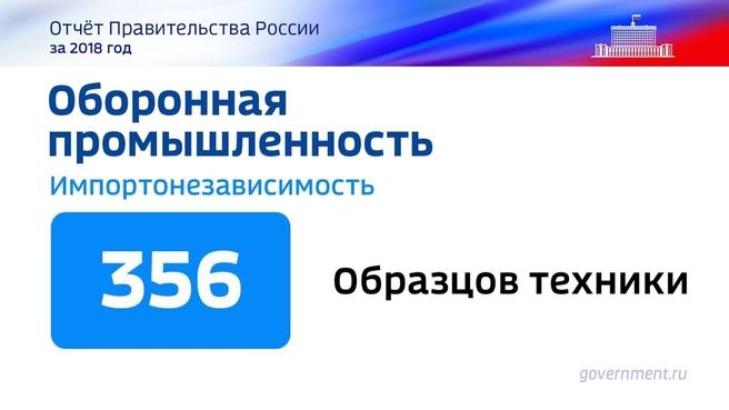 К отчёту о результатах деятельности Правительства России за 2018 год. Слайд 63