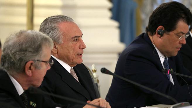 Вице-президент Федеративной Республики Бразилии Мишел Темер