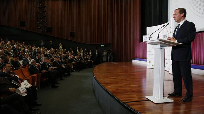 Выступление Дмитрия Медведева на церемонии вручения премий SKOLKOVO Trend Awards 2015