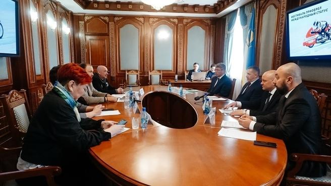 Обсуждение вопросов развития фестиваля «Байкальская миля» и паралимпийского движения в Бурятии