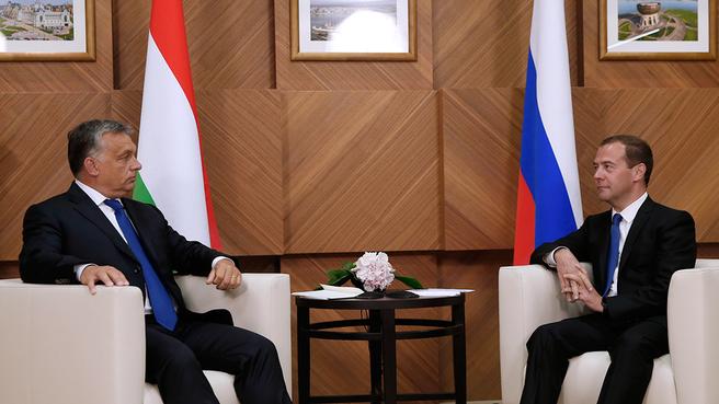 Встреча с Премьер-министром Венгрии Виктором Орбаном