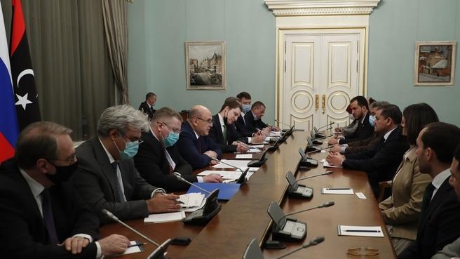 Russian-Libyan talks