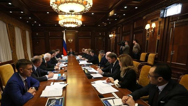 Совещание о поддержке локализации производства медицинских изделий в России