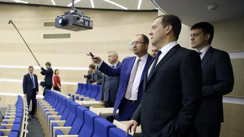 Посещение кампуса «Михайловская дача» Высшей школы менеджмента СПбГУ