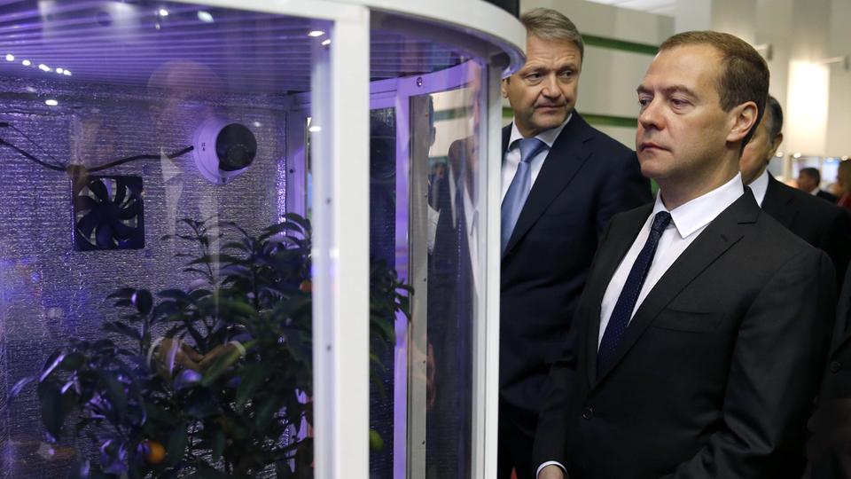 Осмотр экспозиции 17-ой российской агропромышленной выставки «Золотая осень»