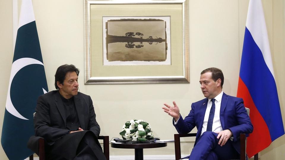 Встреча с Премьер-министром Пакистана Имраном Ханом