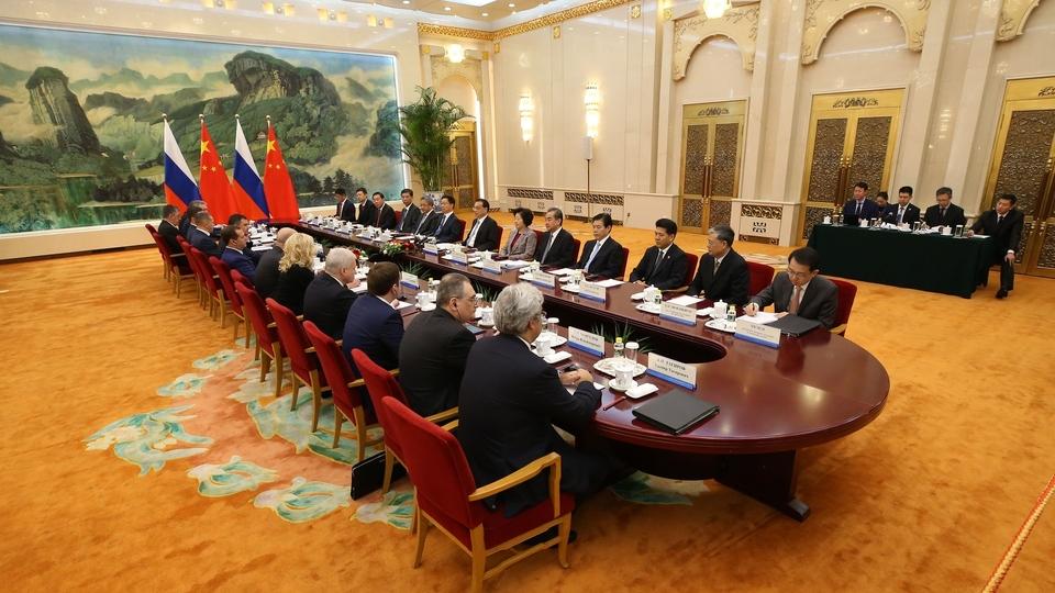 Встреча с Премьером Государственного совета КНР Ли Кэцяном