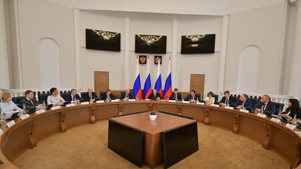 Встреча с представителями малого и среднего бизнеса Новгородской области