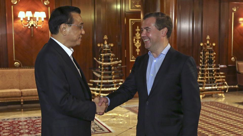Неформальная встреча  с Премьером Государственного совета КНР Ли Кэцяном