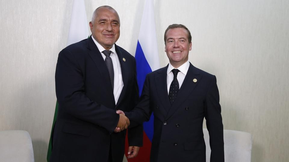 Встреча с Премьер-министром Республики Болгария Бойко Борисовым