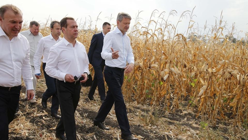 Посещение сельскохозяйственной артели «Радуга»