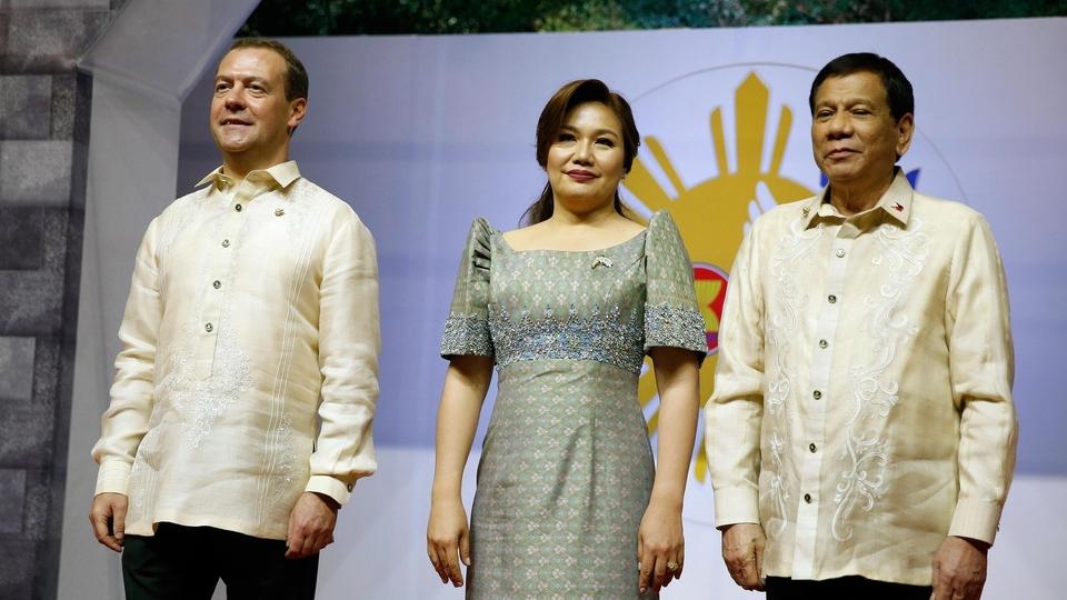 С Президентом Филиппин Родриго Дутерте