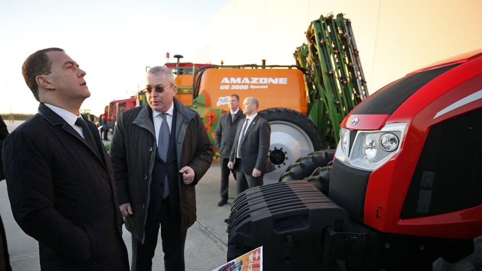 Посещение машиностроительного завода ООО «КЛААС»