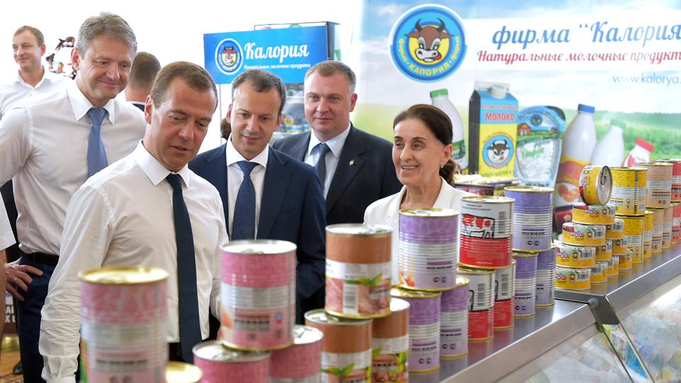 Осмотр сельскохозяйственной продукции предприятий Краснодарского края