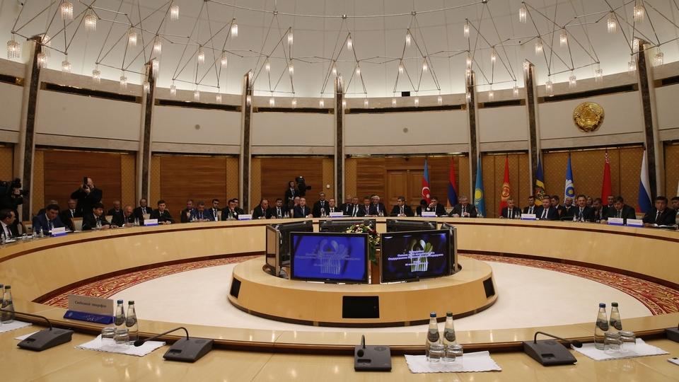 Заседание Совета глав правительств Содружества Независимых Государств в расширенном составе