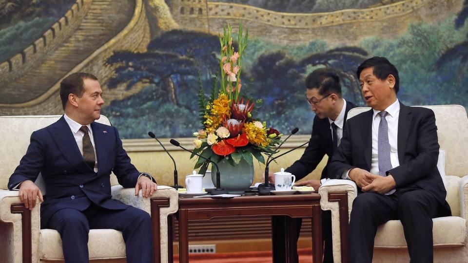 Встреча с Председателем Постоянного комитета Всекитайского собрания народных представителей Ли Чжаньшу