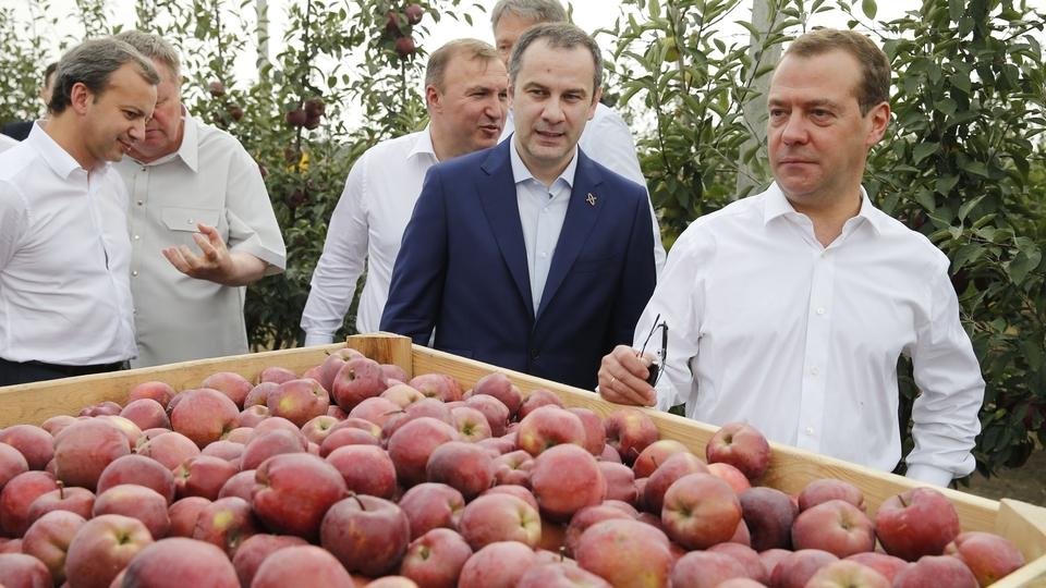 Посещение плодового хозяйства «Черкесские сады»