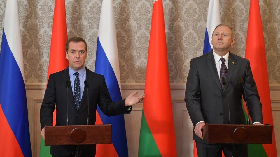 Заявление Дмитрия Медведева для прессы по завершении заседания Совета министров Союзного государства