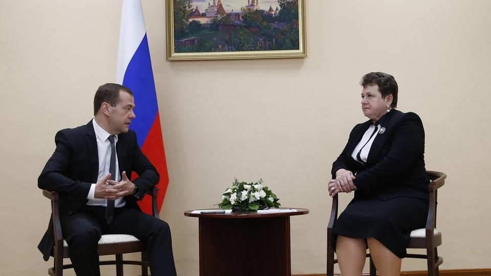 Беседа с губернатором Владимирской области Светланой Орловой