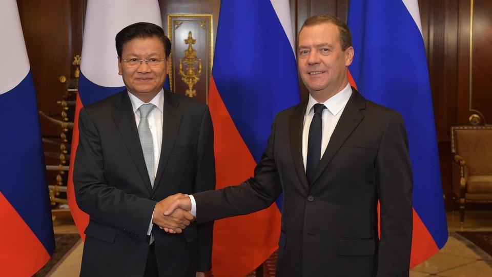 Российско-лаосские переговоры