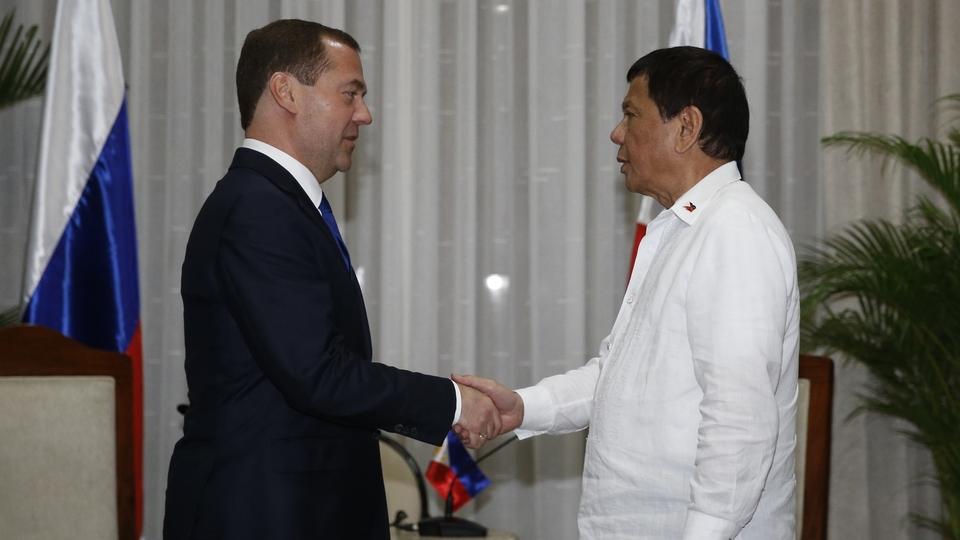 Встреча с Президентом Филиппин Родриго Дутерте